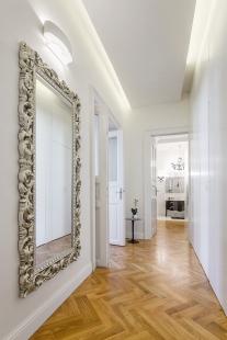 Interiér bytu Praha 1 - foto: MgA. Tomáš Dittrich