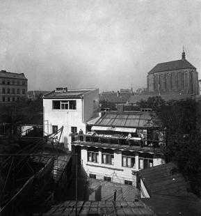 Rekonstrukce paláce Langhans - Historická fotografie ateliéru Langhans - foto: archiv ateliéru Lábus AA