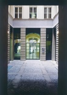 Rekonstrukce paláce Langhans - Vnitřní atrium - foto: Jan Malý