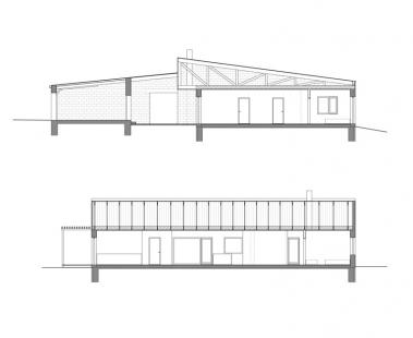 Casa Bubik - Řezy