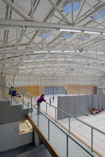 Sportovní hala Dolní Břežany - foto: Petr Šmídek, 2018