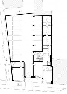 Bytový dům Prostějov 03 - Půdorys 2.np - foto: knesl kynčl architekti