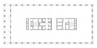 One Pancras Square - Půdorys typického podlaží