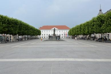 Úprava Nového náměstí v Celovci - foto: Petr Šmídek, 2015