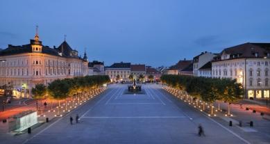Úprava Nového náměstí v Celovci - foto: Miran Kambič