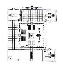 Pastorační centrum Baumgartner Spitz - Půdorys přízemí