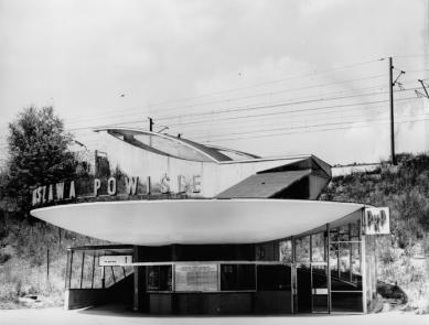 Warszawa Powiśle - revitalization of the lower pavilion of Warsaw's emblematic train station - Historický snímek