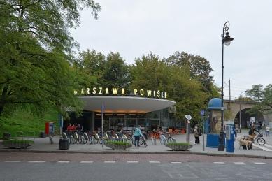 Warszawa Powiśle - revitalization of the lower pavilion of Warsaw's emblematic train station - foto: Petr Šmídek, 2013