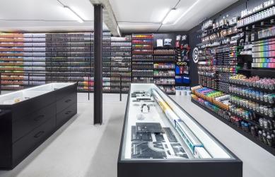 Graffneck Shop - foto: Tomáš Souček