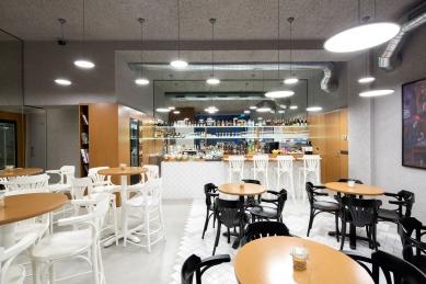 Venti20 - rekonstrukce kavárny  - foto: Chr.Mitsides