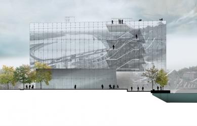 GL Events HQ - Severní pohled - foto: Odile Decq