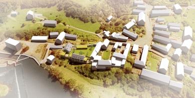 Úprava hospodářského dvora Bukovec pro bydlení - foto: projectstudio8