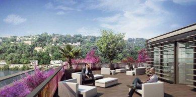 Rooftop 52 - Vizualizace - foto: Rudy Ricciotti