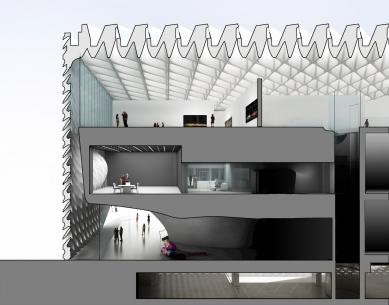 Broad - muzeum moderního umění - foto: Diller Scofidio + Renfro