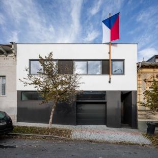 Rodinný dům Královo Pole 06 - foto: Radek Brunecký