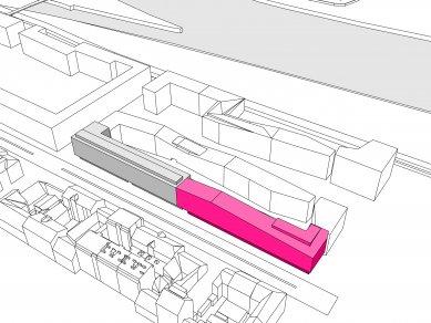 RIVERGARDEN 3 - Schema urbanismus
