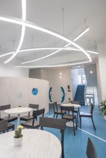 Rekonstrukce chodeb a společenské místnosti Ústavu jaderného výzkumu Řež - foto: Václav Kahoun