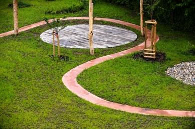 Zahrada základní a mateřské školy v Kolodějích - foto: René Volfík