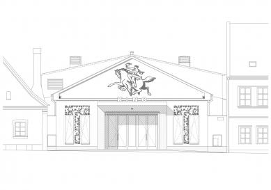 KINONEKINO - Pohled do náměstí - foto: XTOPIX architekti s.r.o.