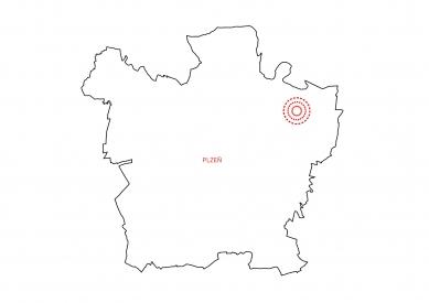 Obytný soubor Na Drážkách - Poloha - foto: projectstudio8