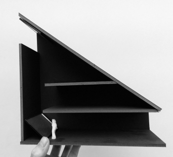 Dům Periskop - Model - foto: Petr Hájek ARCHITEKTI
