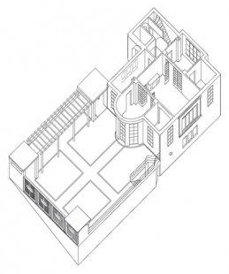 Vila Jeanneret-Perret - Axonometrie