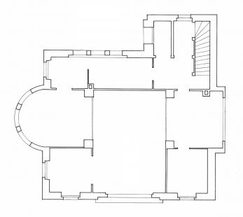 Vila Jeanneret-Perret - Půdorys přízemí