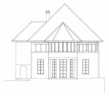 Vila Jeanneret-Perret - Jižní pohled