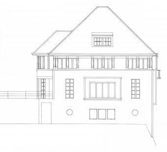 Vila Jeanneret-Perret - Východní pohled