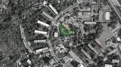 Mateřská škola Stará - Ortofotomapa