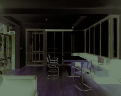 Rekonstrukce Paličkovy vily  - Obývací pokoj - foto: © Tomáš Balej