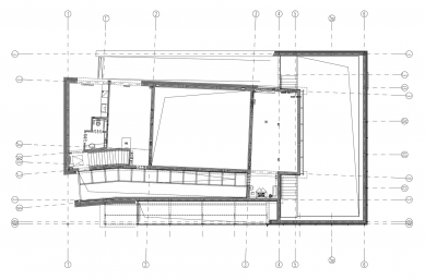Archeological reservation on Cathedral Island - Půdorys 1.pp - foto: Toya Design