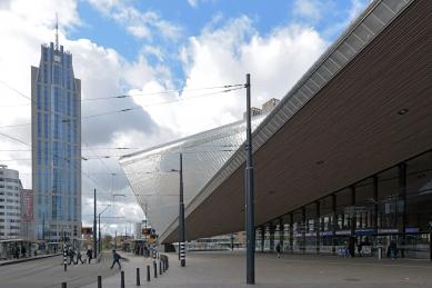 Hlavní vlakové nádraží v Rotterdamu - foto: Petr Šmídek, 2016