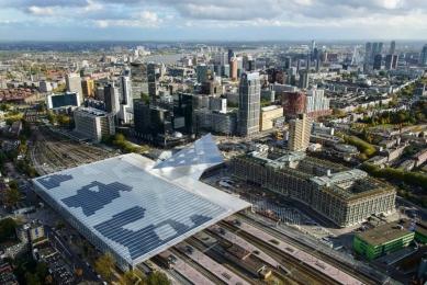 Hlavní vlakové nádraží v Rotterdamu - foto: Rijksoverheid