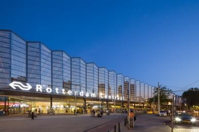 Hlavní vlakové nádraží v Rotterdamu - foto: Jannes Linders