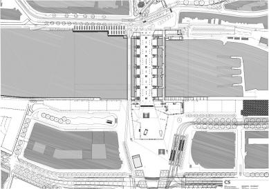 Hlavní vlakové nádraží v Rotterdamu - foto: Benthem Crouwel Architects