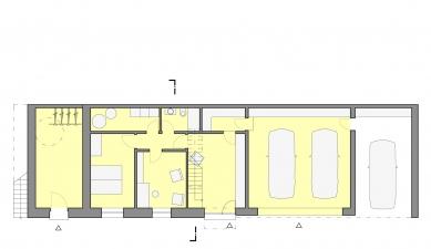 Villa Tajm - Půdorys 1PP