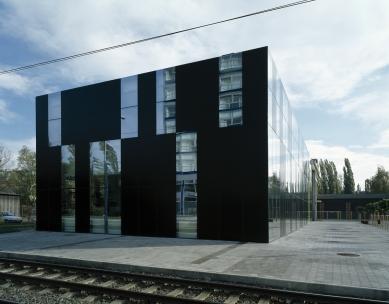 Konverze průmyslového objektu v Ostravě - pohled z Plynární ulice - foto: Ester Havlová