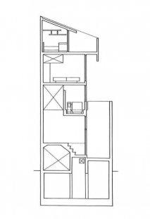 Dům věž v Tokiu - Řez