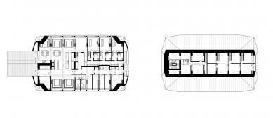 Rekonstrukce Chaty Na Rozcestí - Půdorysy