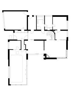 Rodinný dům, Šebrov - Půdorys 1NP