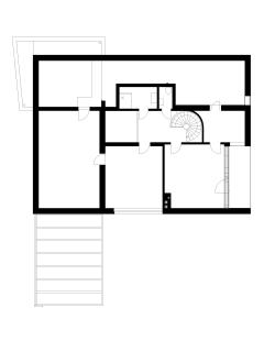 Rodinný dům, Šebrov - Půdorys 2NP