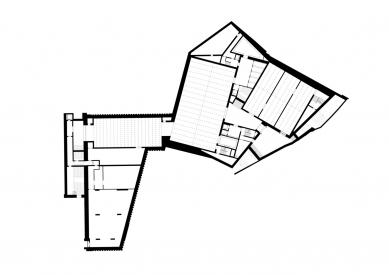 Umělecké muzeum v Basileji - Půdorys suterénu - foto: Christ & Gantenbein Architekten