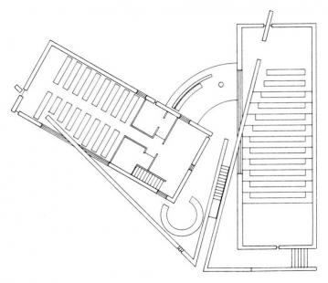 Church of Light  - Půdorys přízemí - foto: Tadao Ando Architects & Associates