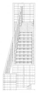 Church of Light  - Axonometrie - foto: Tadao Ando Architects & Associates