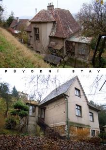 Rodinný dům Všenory - Původní stav