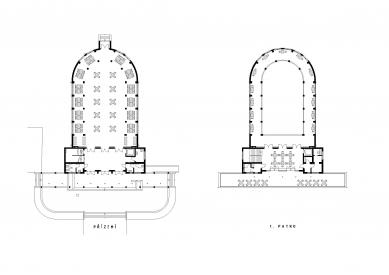Rekonstrukce pavilonu A - Půdorysy
