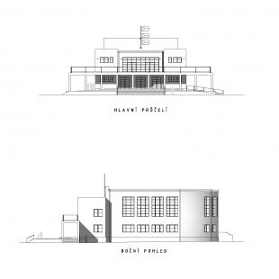 Rekonstrukce pavilonu A - Pohledy