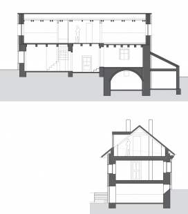 Rodinný dům Černošice - Řezy
