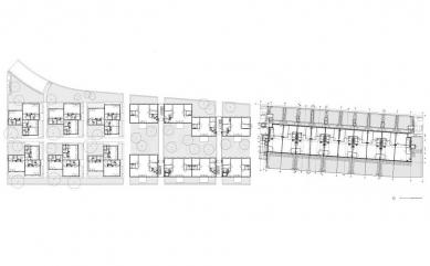 Vícegenerační bydlení Am Mühlgrund - Situace